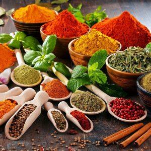 Сушеные овощи и специи